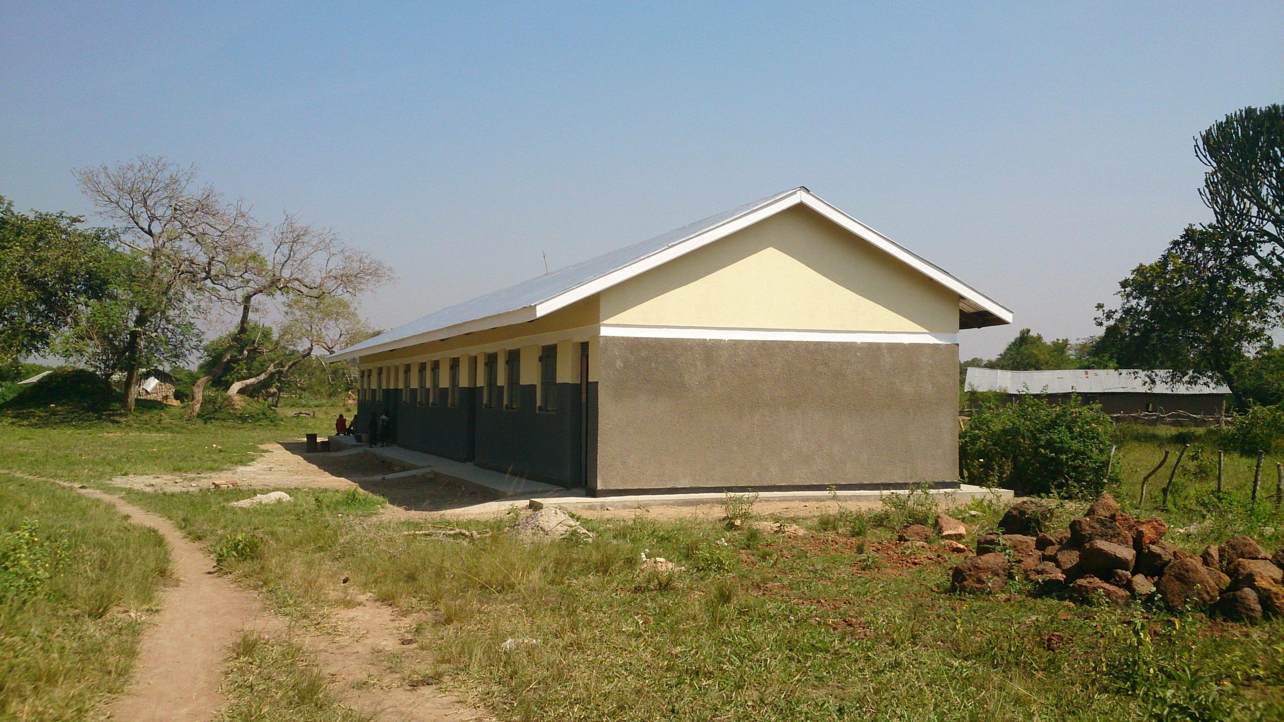 Een nieuw schoolgebouw