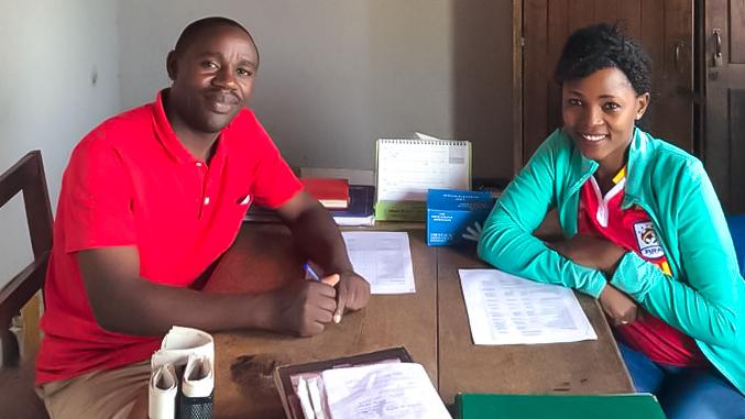 Inzamel actie in Oeganda